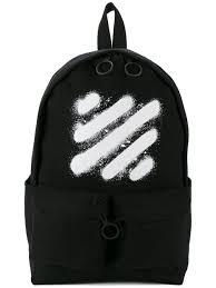 off white spray paint backpack black men bags backpacks off white