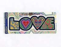 peacemonger art decal window stickers