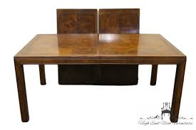 high end used furniture henredon scene one campaign style dining