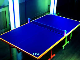 ping pong vs table tennis uv table tennis ping pong with ultra violet lighting fx