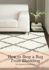 Scotchgard Wool Rug Odds U0026 Ends How To Stop A Rug From Shedding Lauren Conrad