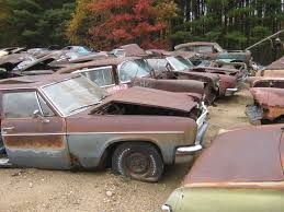 Classic Car Parts - last call for parts at hillard u0027s auto salvage in michigan