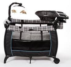 Playpen With Changing Table And Bassinet Eddie Bauer Play Yards With Rocking Bassinets Recalled By Dorel
