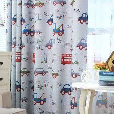 Boys Ready Made Curtains Aliexpress Com Buy Top Finel Cartoon Car Curtains For Kids