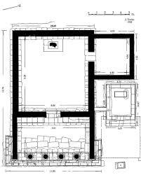 greek temple floor plan agora monument temple of apollo patroos ascsa net