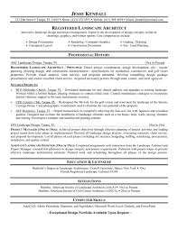architecture resume template