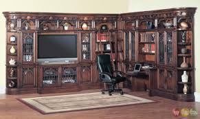 Home Office Wall by Parker House Barcelona Home Office Library Entertainment Wall Unit