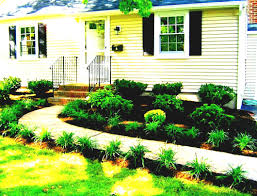 decorating front yard landscaping ideas small house simple garden