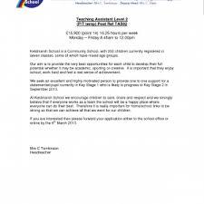 cover letter teachers assistant cover letter teacher u0027s assistant