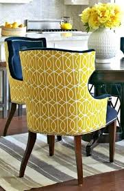 Yellow Chairs Upholstered Design Ideas Yellow Upholstered Chair Yellow Chair With Chevron Yellow
