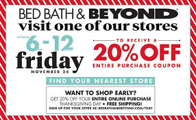 Coupons Bed Bath And Beyond Black Friday