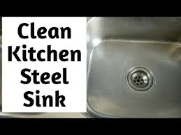 how to keep stainless steel sink shiny diy clean kitchen stainless steel sink in 3 simple steps how to