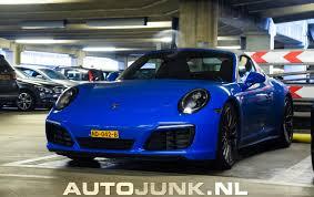 porsche voodoo blue knalblauwe targa foto u0027s autojunk nl 188546