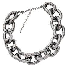 black chain link necklace images Haute bauble michael kors 39 chain link necklace as seen on jpg