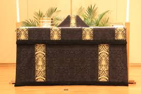 chalice veil ecclesiastical sewingash wednesday altar frontal and chalice