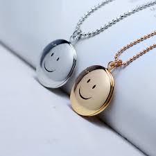 Personalized Photo Locket Necklace White Gold Vintage Locket Necklace Jewelry Ideas