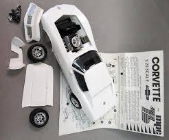 76 corvette parts large scale automotive truck vintage plastic model kits for sale