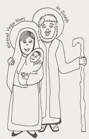28 holy family coloring pages holy family coloring page pray