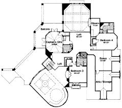Turret House Plans European Style House Plan 4 Beds 5 50 Baths 6250 Sq Ft Plan 135 101