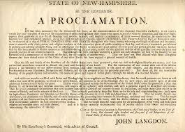 proclamation thanksgiving day 1805 new hshire wallbuilders
