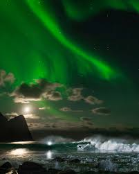 when are the northern lights in norway mick fanning surfing under northern lights video