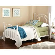 metal bed frame and headboard full queen size footboard in black