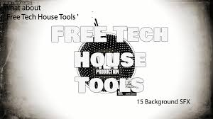 free tech house tools bass loops drum samples vocal samples