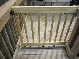 my 2 jobs diy a sliding gate for my deck