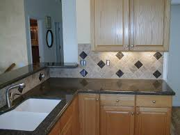 granite countertop and backsplash ceramic bath tiles kitchen