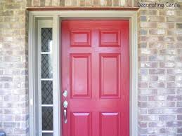 articles with front door colors for white house with gray shutters