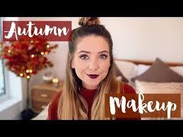 autumn makeup zoella