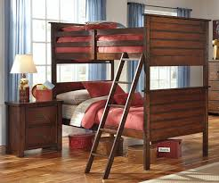 Ashley Bed Frames by Ladiville B567 Twin Over Twin Size Bunk Bed Ashley Furniture