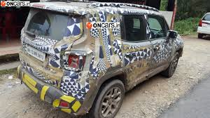 jeep india jeep renegade exclusive spotted in india find new u0026 upcoming