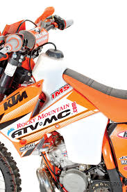 dirt bike magazine two stroke tuesday 2006 ktm 200 rebuild