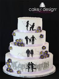 wedding cake mariage wedding cake purpule flowers cakes design