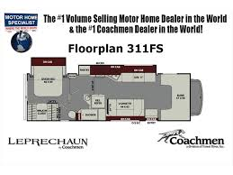 Coachmen Class C Motorhome Floor Plans by 2018 Coachmen Leprechaun 311fs For Sale W Jacks Rims W D Sat