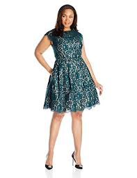 eliza j eliza j women s plus size lace fit and flare dress howthelook