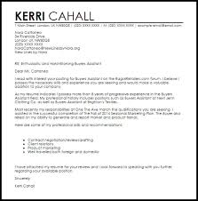 Resume For Buyer Position Buyer Cover Letters