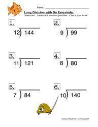 division worksheets no remainders u0026 division 2digit by1digit no