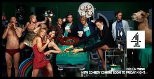 green wing the british answer to scrubs but much much better