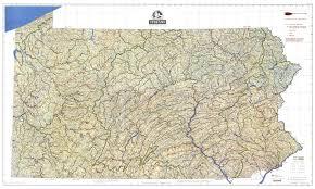 Maps Of Pa Professor Higbee U0027s Stream U0026 Lake Maps