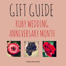 wedding gift next ruby wedding anniversary gift guide all these gifts can be