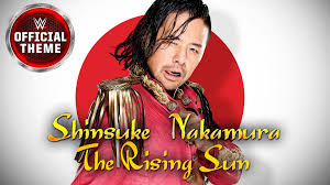 theme song quiz wwe shinsuke nakamura theme song the rising sun the walls lyrics