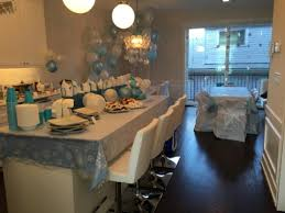 Winter Onederland Party Decorations Beautiful Winter Onederland First Birthday Party Easy Living Today