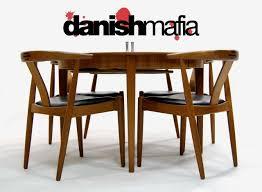 Teak Dining Room Set Mid Century Danish Modern Huge Teak Dining Table Eames Danish Mafia