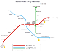 Santiago Metro Map by Tashkent Metro U2014 Map Lines Route Hours Tickets