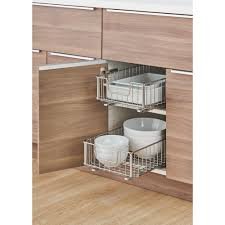 roll out shelves for existing cabinets cabinet pull out shelves costco imanisr com