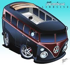 volkswagen van clipart caricaturas de carros buscar con google vw u0027s pinterest