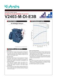 v2403 m di e3b kubota engine pdf catalogue technical