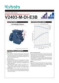 v2403 m di e3b kubota engine pdf catalogue technical